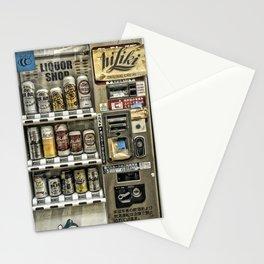 Alcohol Vending Machine, Osaka, Japan Stationery Cards