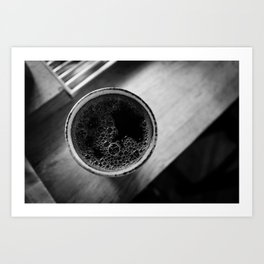 fresh cup Art Print