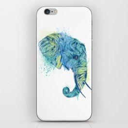 Elephant Head II iPhone Skin