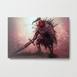 Cursed Knight Metal Print
