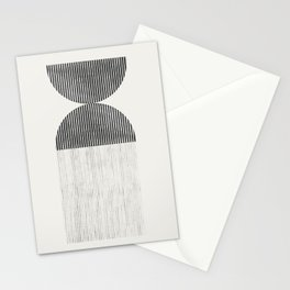 Mid Century Paper Graphic_01 Stationery Cards