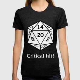 Critical hit RPG  T-shirt