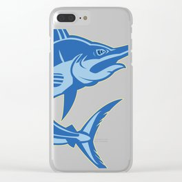 Sailfish is one of the most hardest fishes to catch Clear iPhone Case