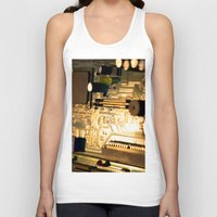technology Tank Tops featuring Sunset Technology by Encore Designs