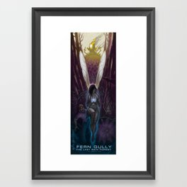 Fern Gully Framed Art Print