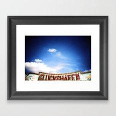 Eldorado (Good Luck!) Framed Art Print