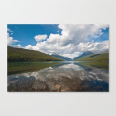 Bowman lake Canvas Print