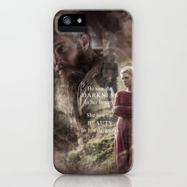 She Saw iPhone Case
