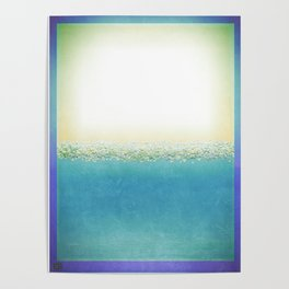 Vintage Beach (Or Memory of a Summer Day) Poster