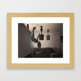 Turn On the Lights Framed Art Print