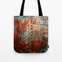 leather Tote Bags featuring Synthetic Leather by Fernando Vieira