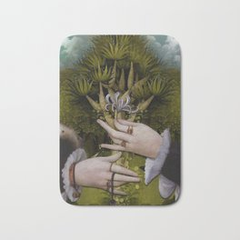"""The hands of Bosch and the Spring"" Bath Mat"