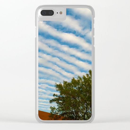 Sky Ceiling Clear iPhone Case