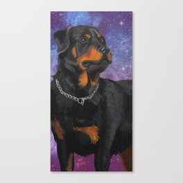 All Dogs Go To Heaven Canvas Print