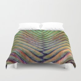 Sugar Beach Palm Duvet Cover