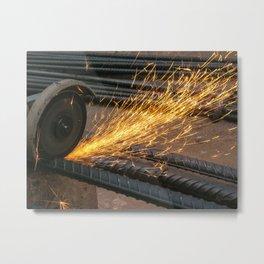 Like a Firework Metal Print
