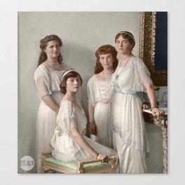 OTMA 1914 Formal - Colorized Canvas Print