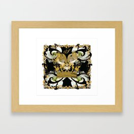 My Empire Collection Summer Set White Flowers Framed Art Print