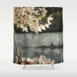 spring glide Shower Curtain