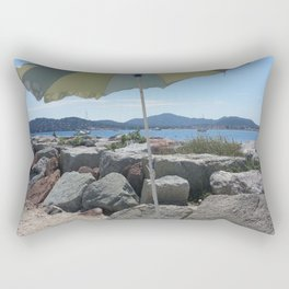 At the Bay of St. Tropez, France Rectangular Pillow