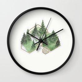 Pines Wall Clock