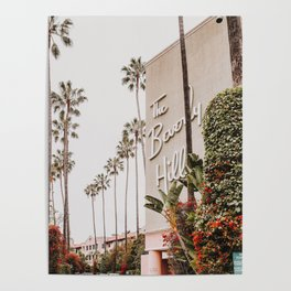 The Beverly Hills Hotel / Los Angeles, California Poster
