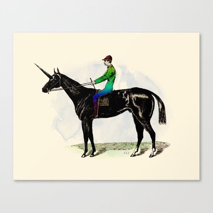 An Unfair Advantage Canvas Print