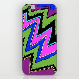 Zippy Zig Zags iPhone Skin