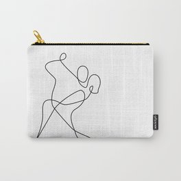 minimal line dance Carry-All Pouch