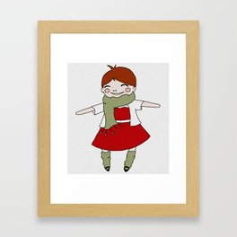 Joy and Good Cheer Framed Art Print