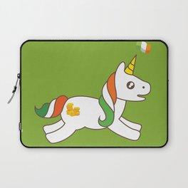 St. Patrick's Day Unicorn 3 Laptop Sleeve