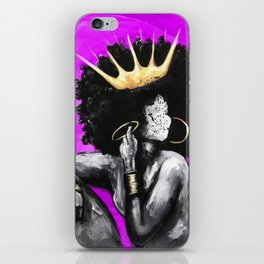 Naturally Queen VI PINK iPhone Skin
