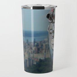 new york city ... distant view I Travel Mug