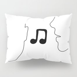Music To My Ears Pillow Sham