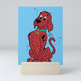 Scooby the Big Red Dog Mini Art Print