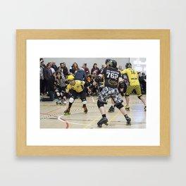 Jam-Munition in Action Framed Art Print