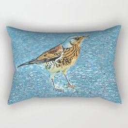 Turdus pilaris Rectangular Pillow