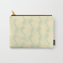 Cute Trailing Leaf Pattern Carry-All Pouch