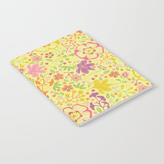Oriental Blooms Notebook