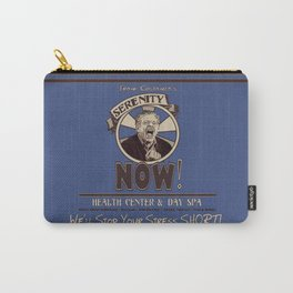 Serenity Now! Health Center & Day Spa Carry-All Pouch