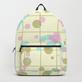 Spotted geometric pattern Backpack