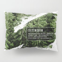Slytherin Nature Pillow Sham