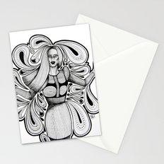 Wooden Swirls Stationery Cards