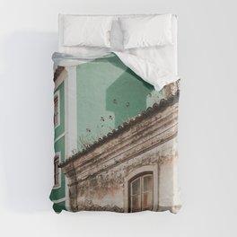 Old Portuguese house Duvet Cover