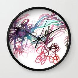 Galaxies Wall Clock