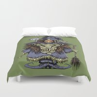 witch Duvet Covers featuring Witch by Kape