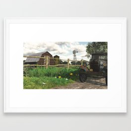 In the Heartland Framed Art Print