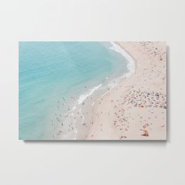 Beach Summer Seaside Metal Print