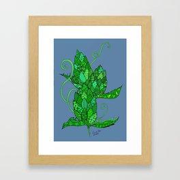 Hop-Heads Framed Art Print