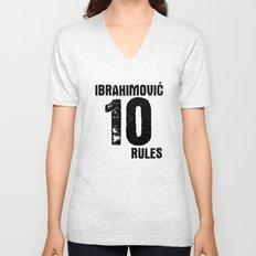 Ibrahimovic 10 Rules Unisex V-Neck